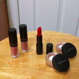 Lipsticks + RARE all over face color set